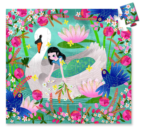 The Lady with the Swan 54 Piece Puzzle