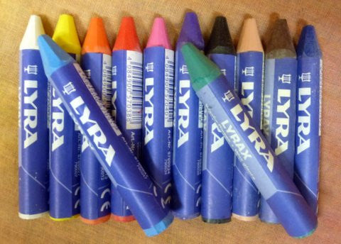 Wax Crayons - Set of 12