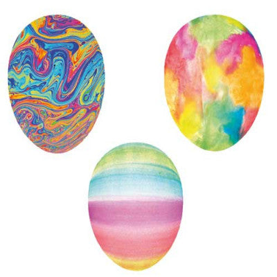 German Medium Egg Containers - 3 Watercolor Designs