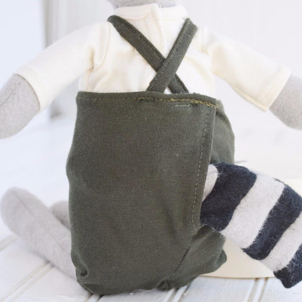 Max Raccoon Organic Cotton Doll