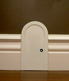 Skirting Board Mouse Door