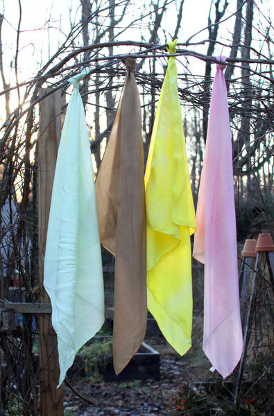 Natural Plant-Dyed Play Silk