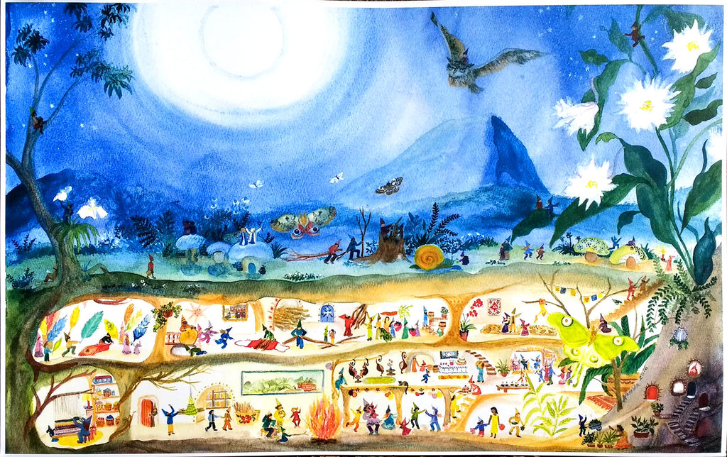 Elves by Night Placemat