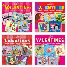 Load image into Gallery viewer, Set of 32 Valentine Cards - 4 Styles