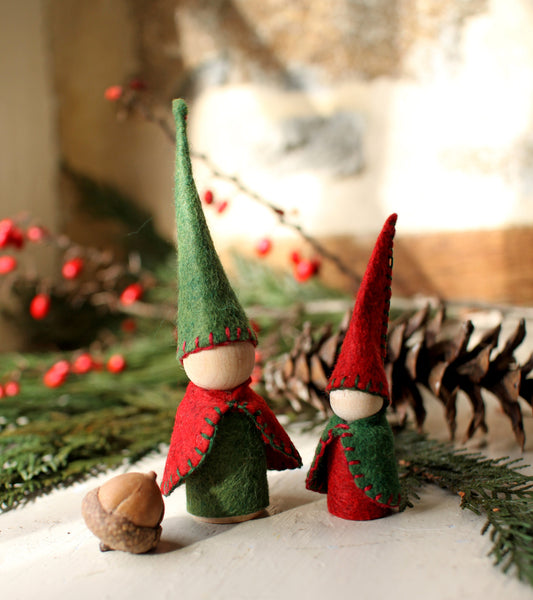 Holiday Gnome Pair