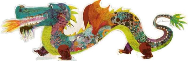 Leon the Dragon 58 Piece Giant Puzzle