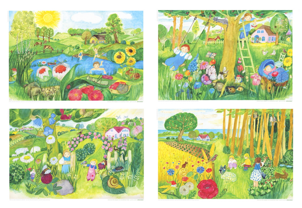 <i>Summer</i> Postcard Collection by Eva-Maria Ott-Heidmann