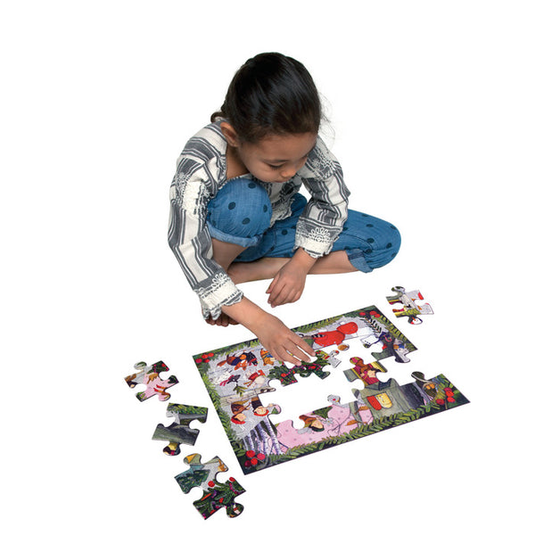 Christmas in the Woods 20 Piece Puzzle
