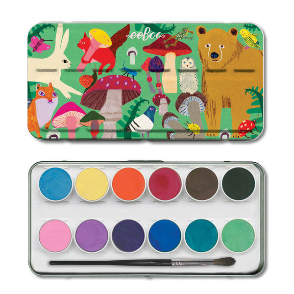 Mushroom Watercolor Set