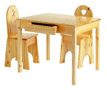 Arts & Crafts Table and Chairs Set
