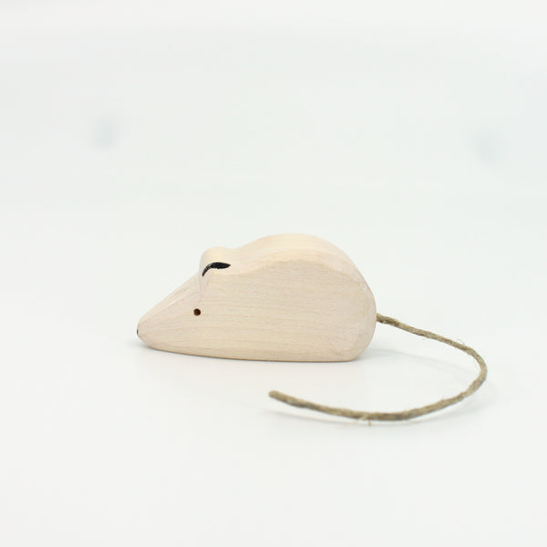 White Mouse by Brin d'Bois