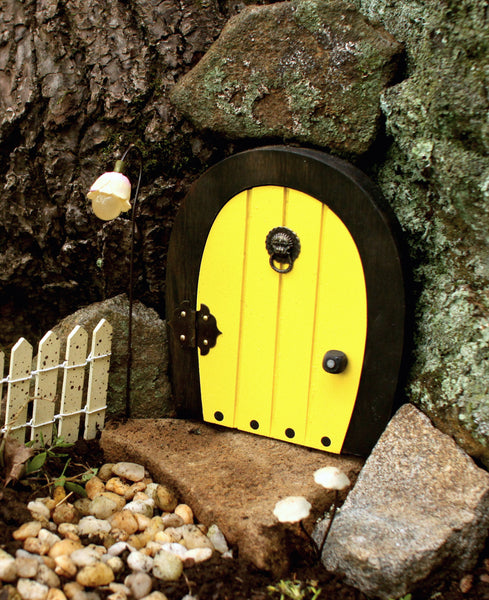 Buttercup Lane Wooden Gnome Door