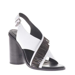 Casey Heel Black and White side view