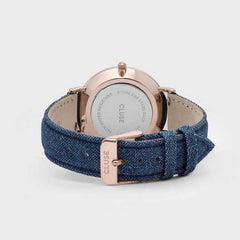La Boheme | Denim & Rose Gold Watch