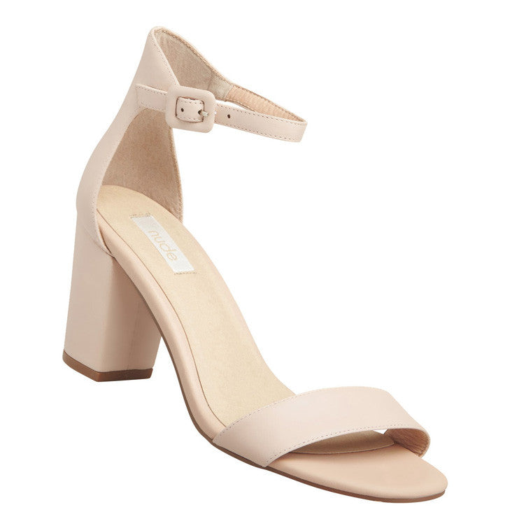 Silence Heel Shoe Pink Side