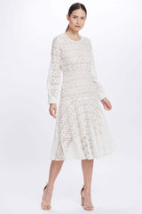 We Are Kindred Romily Midi Dress Ivory