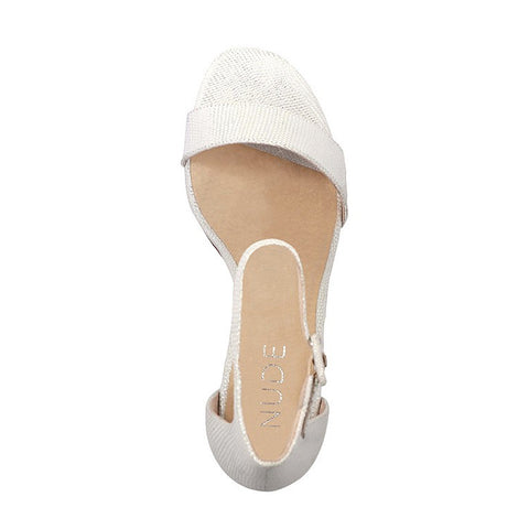 Silence Heel Shoe White Top