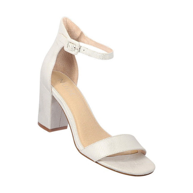 Silence Heel Shoe White Side