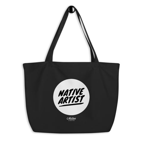 Native Artist Large Organic Tote