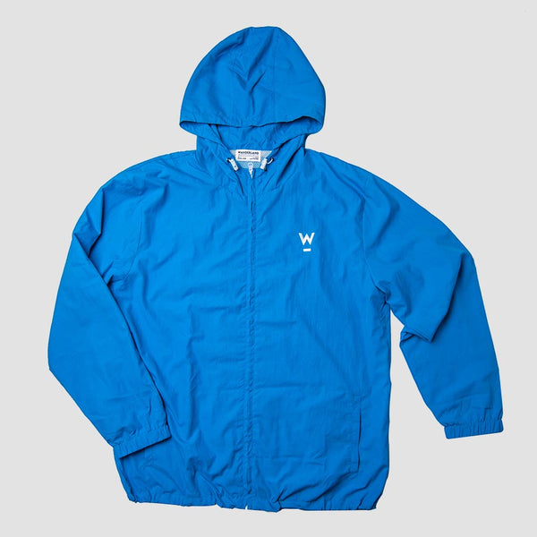 Wanderland Windbreaker - Blue