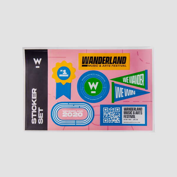 W2020 STICKER SET