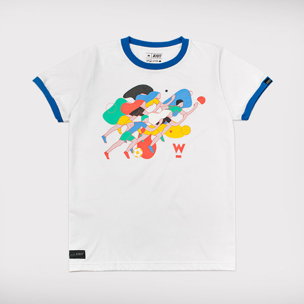W2020 x Globe Team Shirt - White