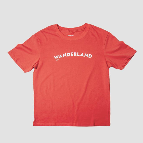 Wanderland Classic Shirt - Orange