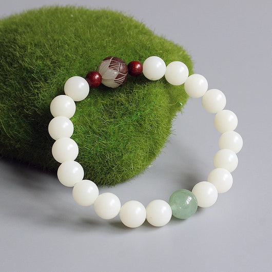 buy dp jewelswonder bracelet beads certified jade green