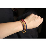 Authentic Tibetan Monk Lucky Knot Buddhist Bracelet [Harmony]