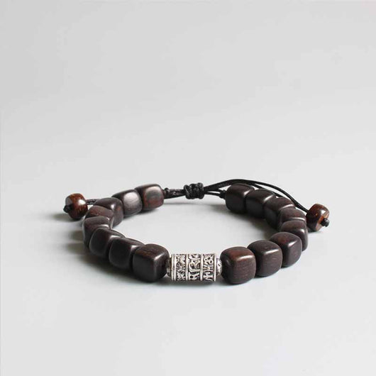 alternating wood bone bracelet prod p beaded mu akola