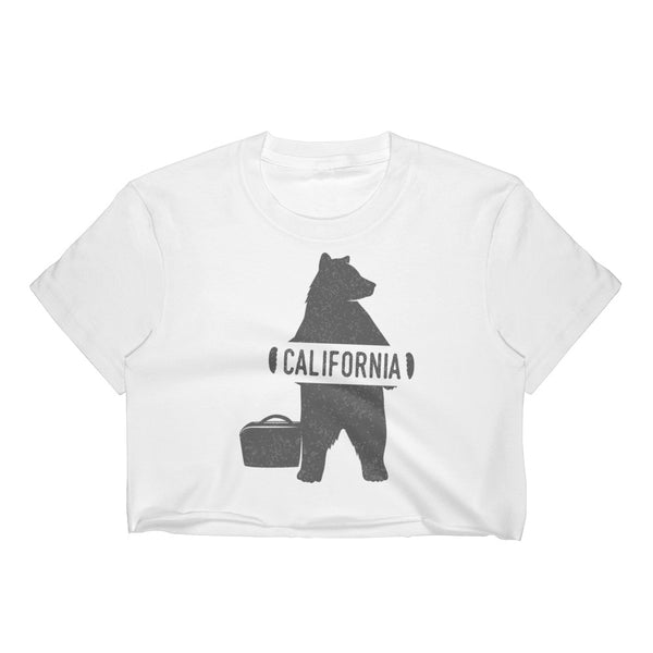 California Bear Crop Top