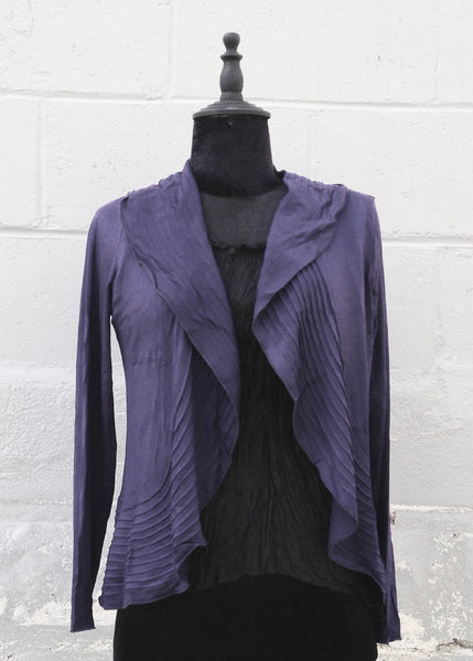 """Marie"" Bamboo/Cotton Jacket - Tamaryn Design"