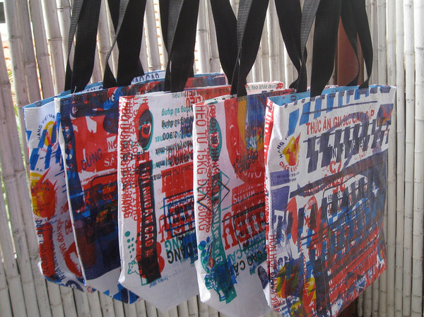 Shopping Tote - Tamaryn Design