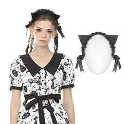 Darkinlove Lolita Rabbit Ear Headwear da donna