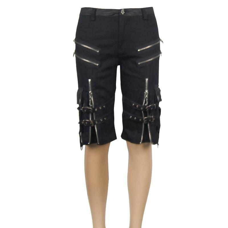 Men's Punk Bermuda Shorts - PunkDesign