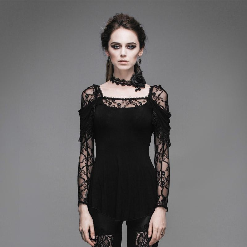 Women's Aline Lace and Tassels Short Dress-Punk Design