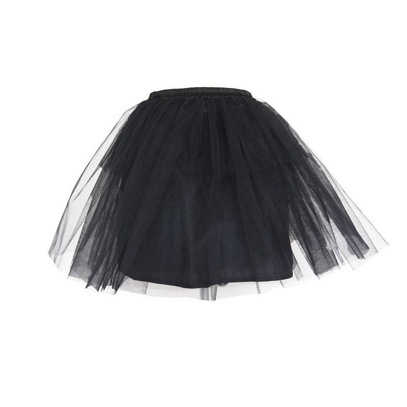 Women's Punk Multilayered Net Skirt-Punk Design