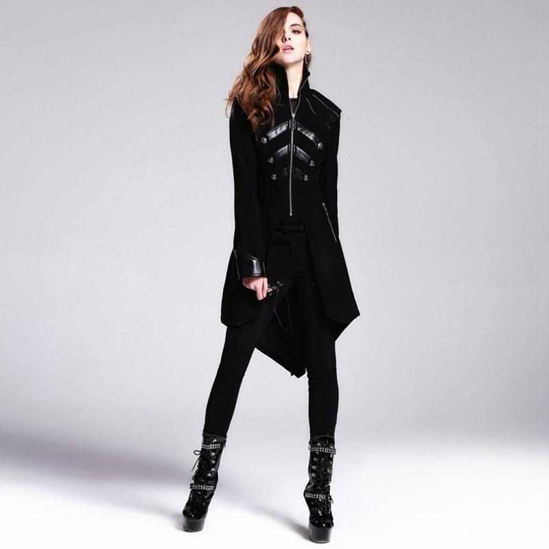 Women's Vintage Ladies Tail Coat-Punk Design