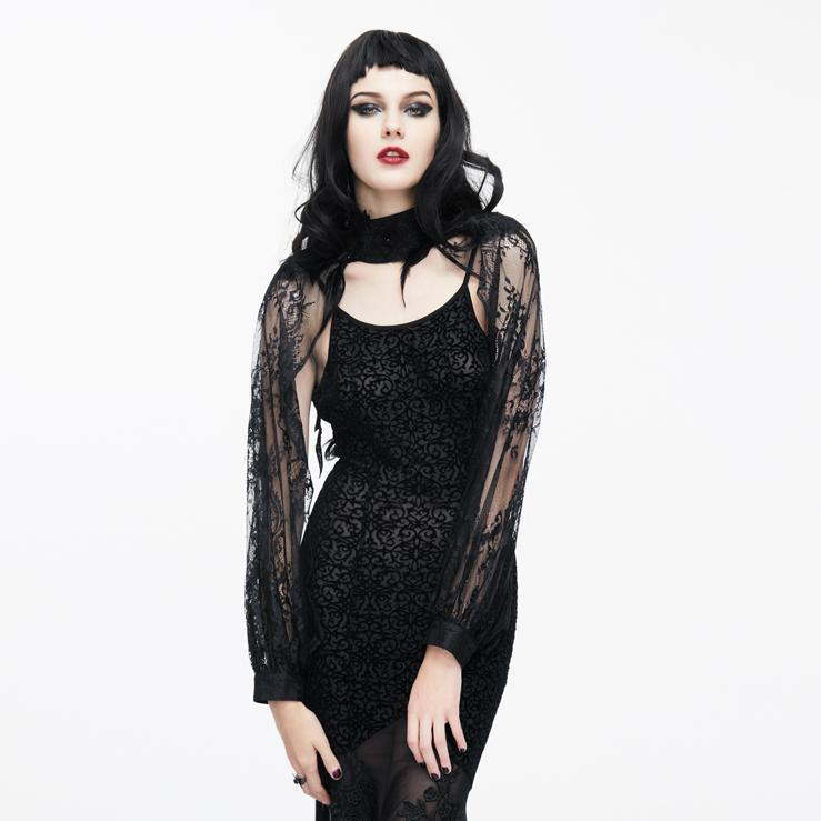 Women's Gothic Lace Cappa-Punk Design