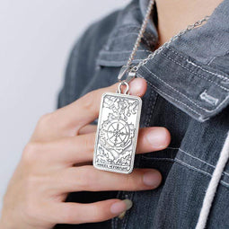 Kobine Men's Punk Tarot Necklaces