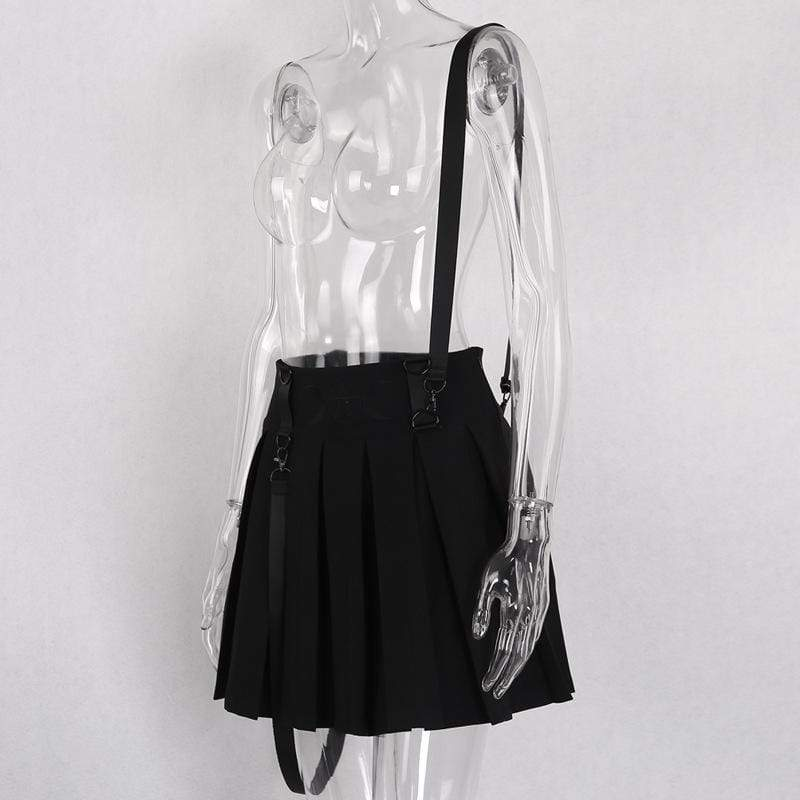 Moon Collecction Womens Skirt Black and White Size S