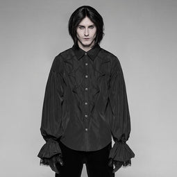 Men's Batwing Vintage Goth Shirt - PunkDesign