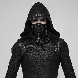 PUNK RAVE Men's Darth Vader Punk Hood