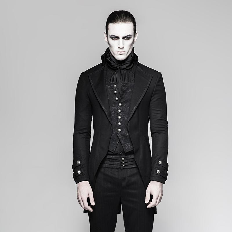 Men's Gothic Two-pieces Jacket - PunkDesign