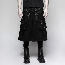 Męska koszula steampunk Metal Warrior / kilts-Punk Design