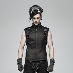 Punk Rave Men's Steampunk Vest