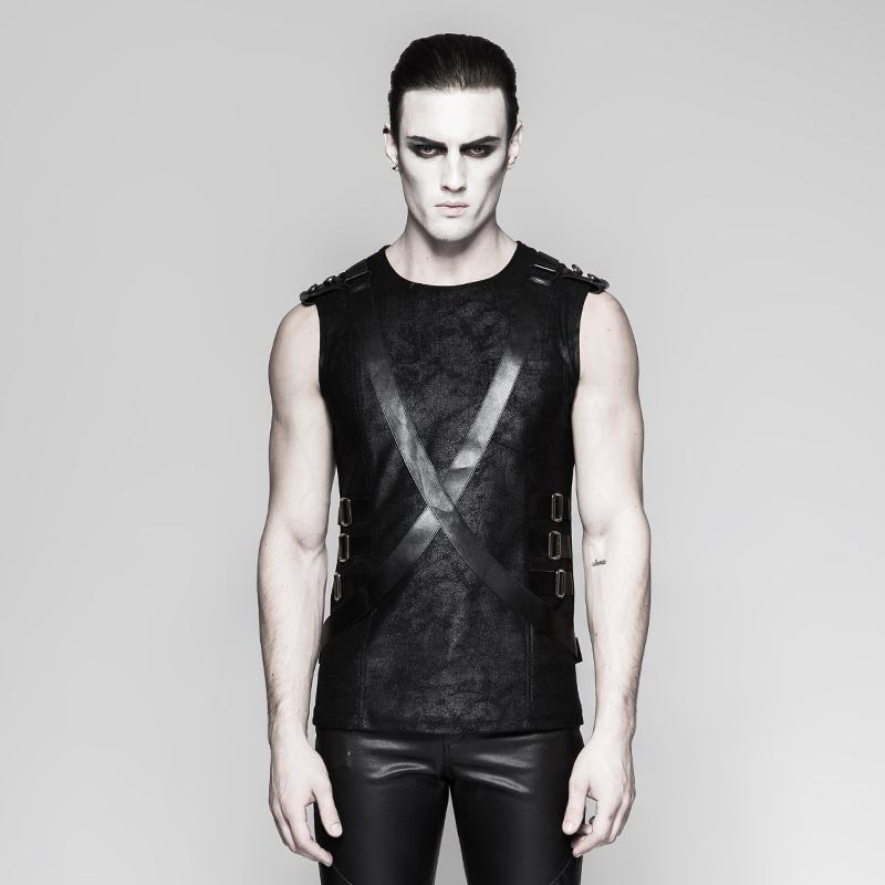 Men's Military Straps tank tops - PunkDesign