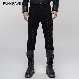 Punk Rave Punk Simple Thickened Punk para hombre