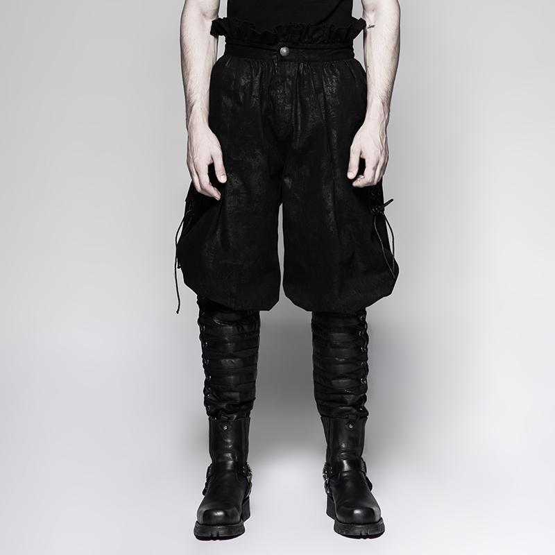 Men's Gothic Breeches Pants - PunkDesign