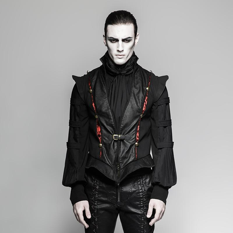 Men's Gothic Vest - PunkDesign